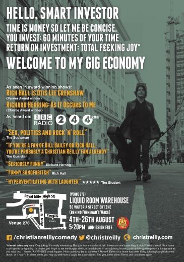Gig Economy Flyer Back