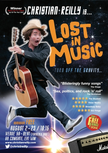 Lost In Music Poster